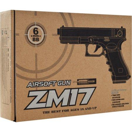 Пистолет  ZM 17 (Glock 18C) - «Кратус» спортивные маты, поролон, картины по номерам, развивающие игрушки в Киеве