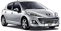 Коврики на Peugeot 207 (2006--)