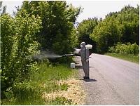 Генератор горячего тумана уничтожение комаров, клещей на открытой территории PulsFog igeba украина