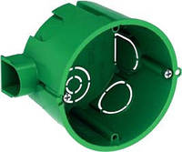 Подрозетник зеленый, Schneider