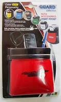 Подставка под телефон GUARD карманчик мягкий красный