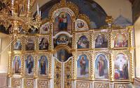 Большой резной Иконостас с позолотой в храме