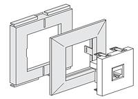Монтажная коробка для наружной проводки,серия Unica,Schneider