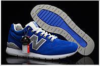 Кроссовки мужские New Balance 996 Blue (нью бэлэнс, оригинал) синие