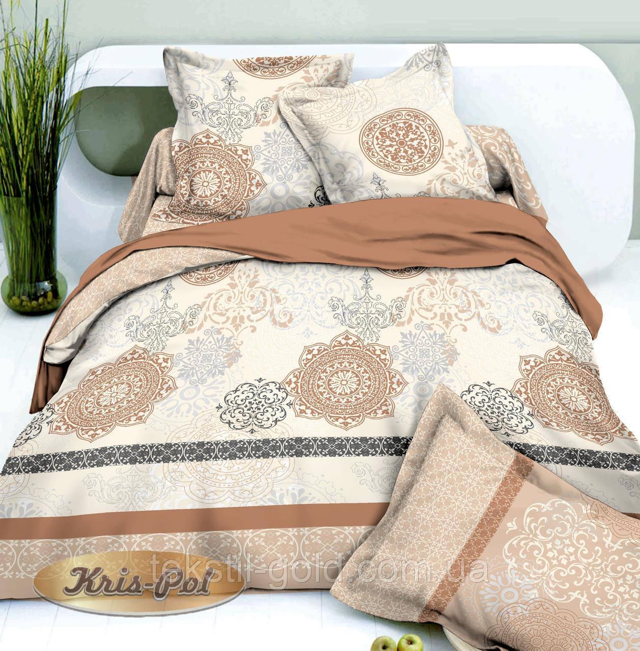 1,5-спальный комплект постельного белья ТМ Kris-pol (Украина) сатин хлопок 1690023