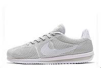 Кроссовки мужские Nike Cortez Ultra BR Grey (найк кортез) серые