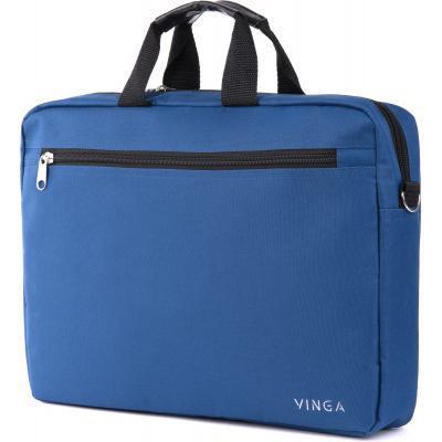 """Сумка для ноутбука Vinga 15.6"""" NB110BL blue (NB110BL) 2"""