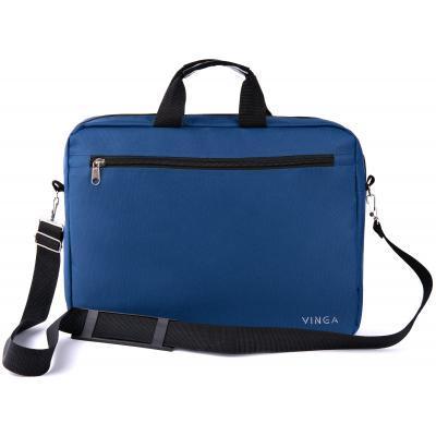 """Сумка для ноутбука Vinga 15.6"""" NB110BL blue (NB110BL) 4"""