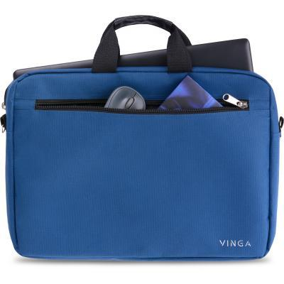 """Сумка для ноутбука Vinga 15.6"""" NB110BL blue (NB110BL) 9"""