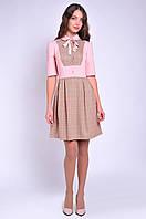 Женское платье летнее с рукавом три четверти