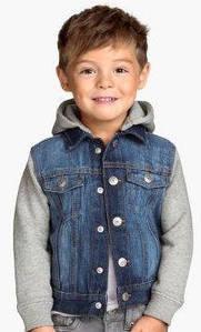 Джинсовые куртки и рубашки для мальчиков