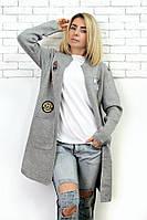 Кардиган женский вязанный 569(2 цвета), женский стильный кардиган