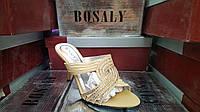Сабо женские  на каблуке Bosaly