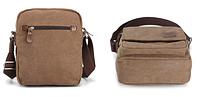 Мужская кожаная сумка. Модель 61256, фото 4