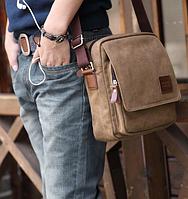 Мужская кожаная сумка. Модель 61256, фото 2