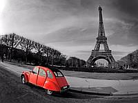 "Картина по номерам ""Прогулка по окрестностям Парижа"" [40х50см, Без Коробки]"
