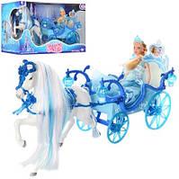 Карета 225A с куклой и лошадью