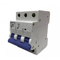 Автоматический выключатель трехполюсный 63А 4,5кА Lemanso LCB45