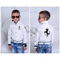 """Рубашка """"Ferrari"""" для мальчика, подростка"""