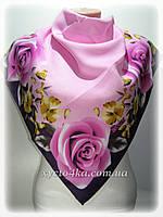 Платок кашемировый, дивный сон розовый