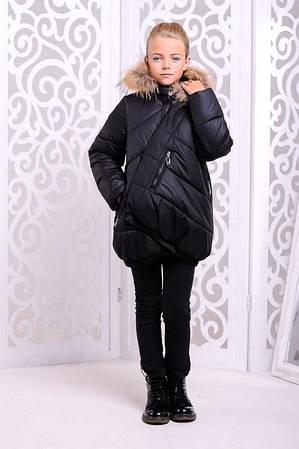 Зимняя куртка для девочки Элис Разные цвета