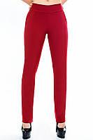 """Бордовые брюки """"Классик """"р.48-52, фото 1"""