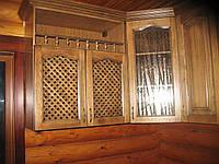 Мебельный фасад для кухни из массива