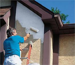 """Качественная покраска фасада фасадной краской AKSIL """"SIL-FAS"""""""