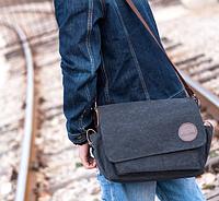 Мужская кожаная сумка. Модель 61258, фото 4