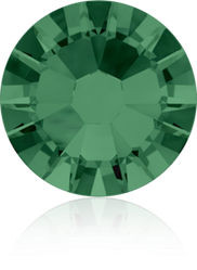 Стразы 2058 XILION ss 8 (2,4mm), Emerald (205)