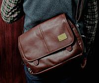 Мужская кожаная сумка. Модель 61259, фото 5