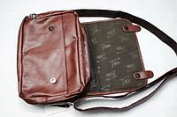 Мужская кожаная сумка. Модель 61259, фото 7