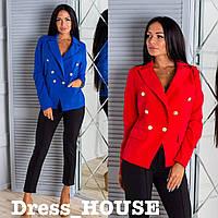 Женский деловой пиджак в расцветках 50911