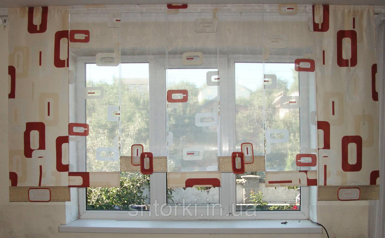 Японские панельки Абстракция, 2,5м