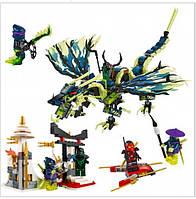 """Конструктор Bela """"Ninja"""" (10400) Атака Дракона Морро 659 деталей"""