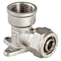 """Фитинг - угольник с креплением ( водорозетка ) 20 мм х 3/4"""" VALTEC VTm.354.N.002005"""