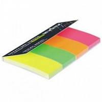 Бумага для заметок 76Х19мм, набор 4 цвета по 30 листов