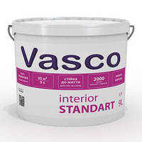Краска для внутренних работ Vasco Interior Standart (Интериор Стандарт), 2,7 л А