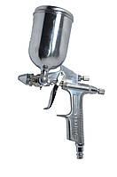 Пистолет покрасочный пневматич. мини, форсунка 0.5 мм, В/Б, 200 мл, 3.5-5 bar 80K303