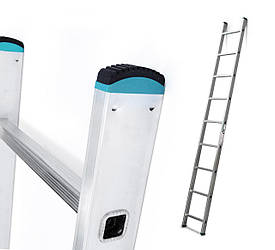 Лестница алюминий 1х10 ALVE 284 см