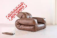 """Кресло кровать """"Hippo"""" экокожа, раскладное кресло,кресло диван, кресло для дома, бескаркасное кресло."""