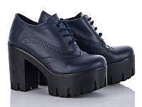 Демисезонная обувь. Женские ботильоны на шнуровке оптом от производителя Cinar TP-1 (8пар 36-40)