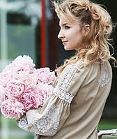 Женская современная вышиванка, платья