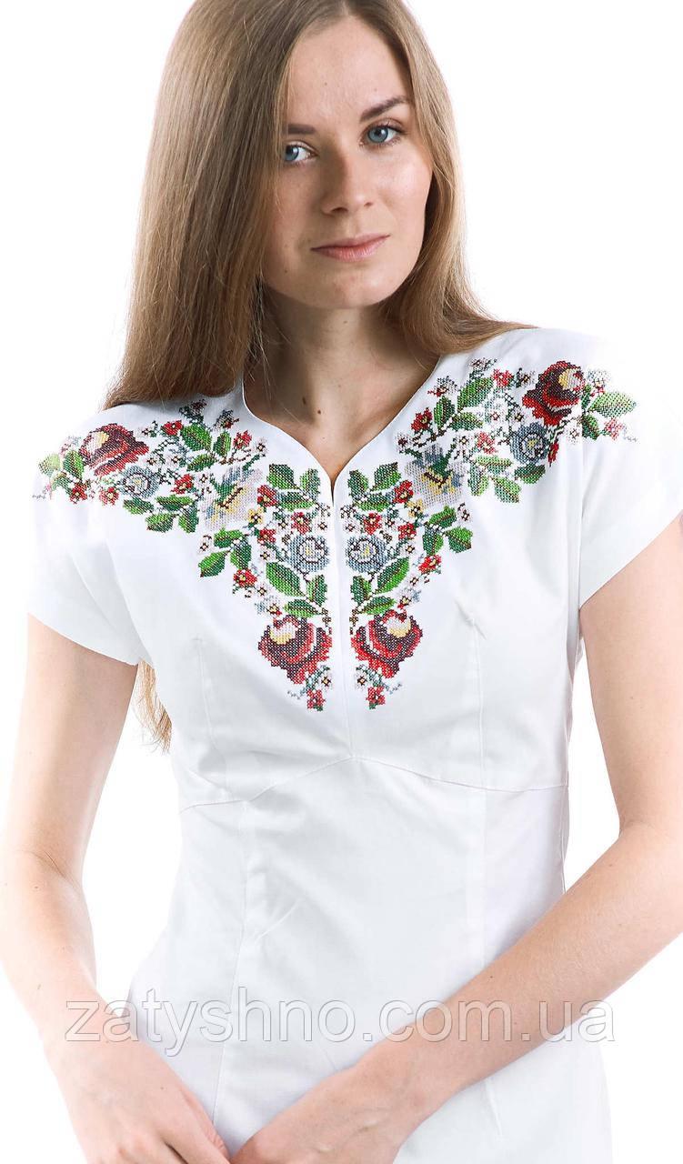 Женская вышиванка платья оригинальное, фото 1