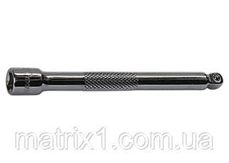 """Подовжувач, 125 мм, 1/2"""", CrV, полірований хром, для робіт у важкодоступних місцях. МТХ."""