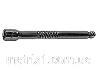 """Подовжувач, 75 мм, 3/8"""", CrV, полірований хром, для робіт у важкодоступних місцях. МТХ."""