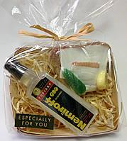Мыльный набор Водка и бутерброд с салом и огурцом