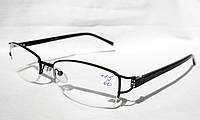 Очки для коррекции зрения LANKOMA 87011 (рмц 60) (вставка Изюмское стекло)