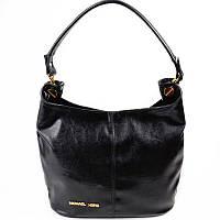 Женская сумка-мешок, хобо удобная, красивая, стильная из кожзама  М129-Z gold