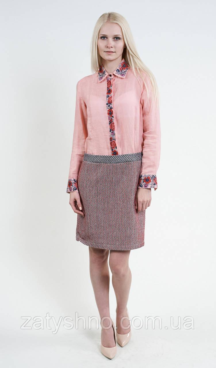 Рубашка женская в украинском стиле